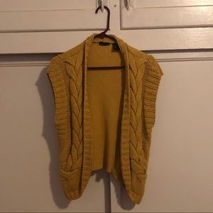 Victoria's Secret Knit Yellow Vest